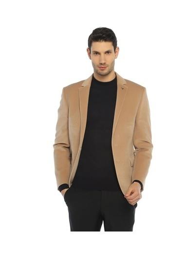 Comienzo Slim Fit Blazer Ceket Bej